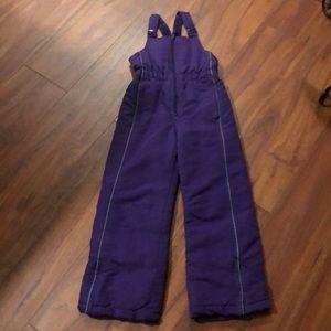 Girls 7/8 ski snow snowboard pants bibs